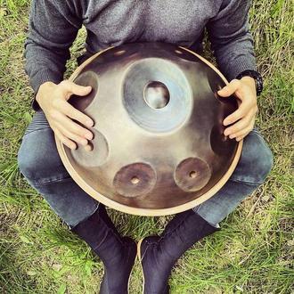 9-нотный Handpan Mini Ø45см (чехол в подарок) Ханг Hang drum Хендпан Хэндпан Pantam Пантам