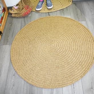 Эко коврик, Коврик из джута, Циновка круглая (100cм)