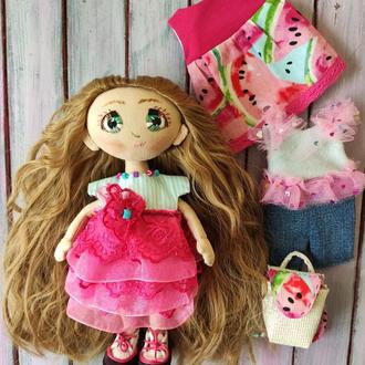 Игровая текстильная куколка