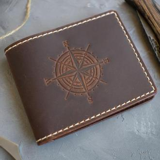Кожаный кошелёк моряка