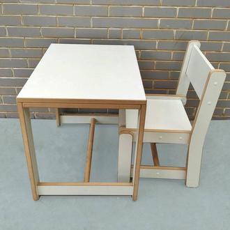 """Комплект стол и стул """"baby loft"""""""