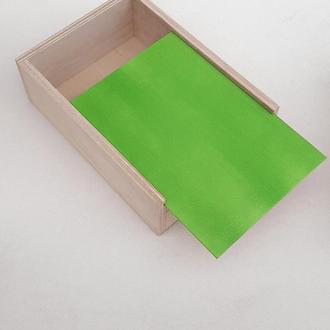 Декоративный деревянный ящик. Подарочная деревянная коробка. Бокс подарочный. Ящик пенал.
