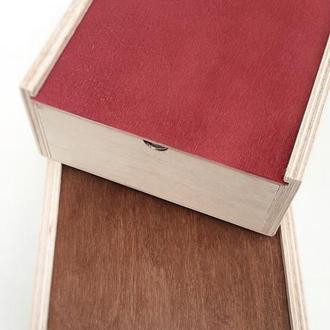 Ящик деревянный. Декоративный ящик. Коробка деревянная для подарка