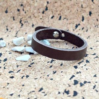 Кожаный браслет (Унисекс).