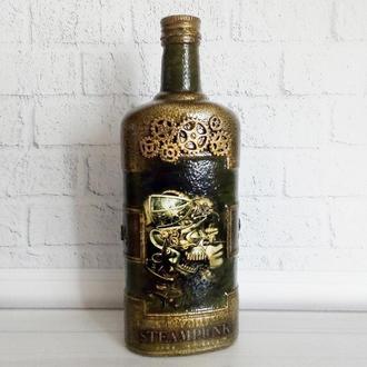 Стимпанк бутылка Механический мираж Подарки в стиле steampunk