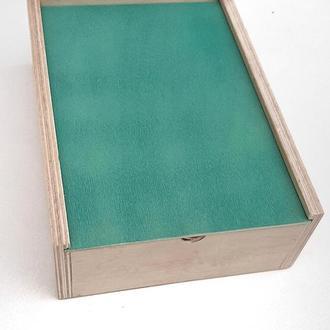 Ящик деревянный. Декоративный ящик. Коробка подарочная деревянная