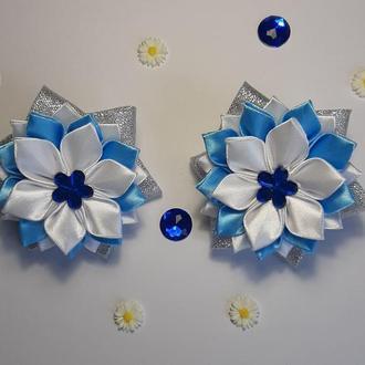 Резиночки канзаши цветок (111)