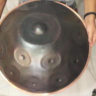 до 16 нот Handpan Mutant Ø55см (чехол в подарок) Ханг Hang drum Хендпан Хэндпан Pantam Пантам