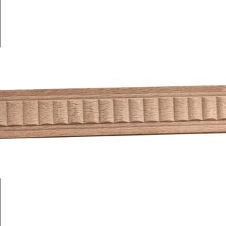 Молдинг из дерева, декоративная планка, резной профиль (планки по 2,5 м)