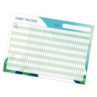 """Магнитный планер """"Habit tracker"""" Nature (трекер привычек, магнитная доска, многоразовый календарь)"""