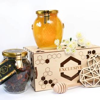 Подарочный набор с медом PREMIUM PARA #2