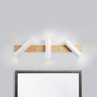 Светильник белый для ванной. Освещение для зеркала