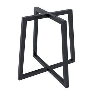 Опора для круглого стола  Loft Design Бланк толщина металла 2мм Черный (1008LP)