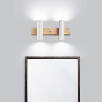 Светильник для ванной белый. Освещение для зеркала