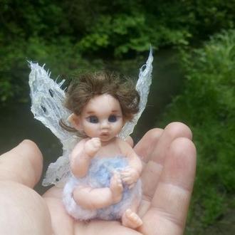 Малыш эльф. Кукольная миниатюра