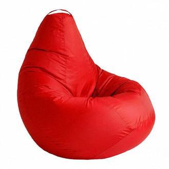 Кресло мешок цвет красный L