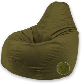 Кресло мешок груша KOMERS хаки