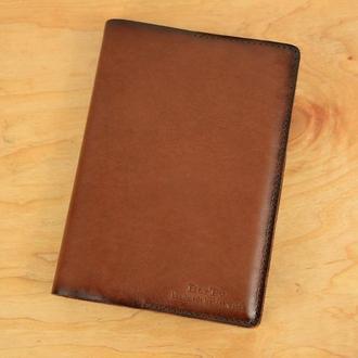 Обложка для ежедневника формата А5|10560| Италия | Коричневый