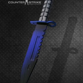 Нож деревянный КС ГО М9 Штык-нож Волны Фаза 4 CS GO M9 Bayonet Doppler Phase 4