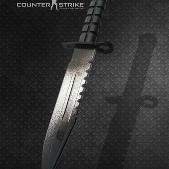 Нож деревянный КС ГО М9 Штык-нож Ванилла CS GO M9 Bayonet Vanilla