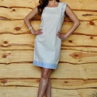 Платье с вышивкой П01/21-241