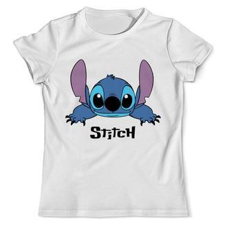 Детская футболка с принтом Stitch Стич Push IT