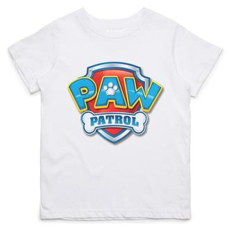 Детская футболка с принтом Логотип Щенячий патруль Push IT