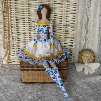 Кукла в стиле Тильда  Нэнси плюс БЕСПЛАТНЫЙ ПОДАРОК