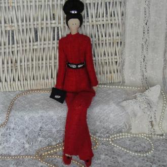Кукла в стиле Тильда Марселла