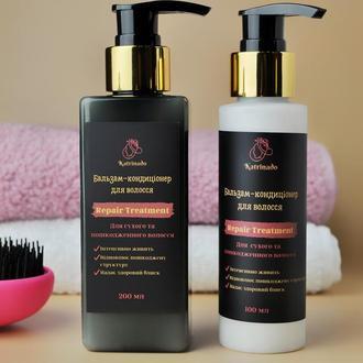Відновлюючий бальзам-кондиціонер з амінокислотами шовку для сухого та пошкодженого волосся