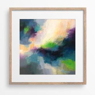 Сучасна абстрактна картина на полотні