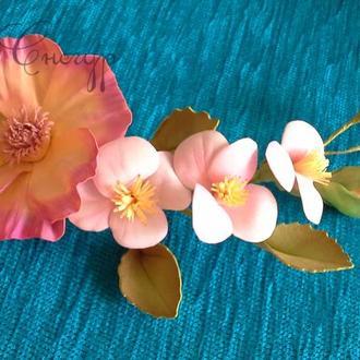 Обруч Цветы лета