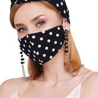 Летний набор маска +цепочка для маски и очков