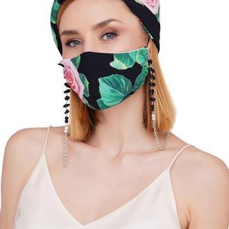 Летний набор маска +цепочка для маски
