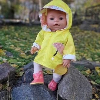 Ветровка и сапожки для куклы BabyBorn
