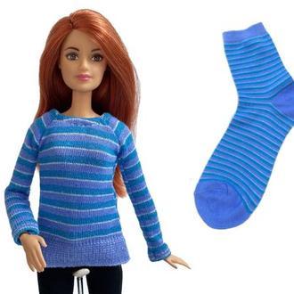 Викрійка і видеоурок ′Светр для ляльки Барбі′