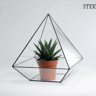 Горшок для цветов геометрический №2 Pyramid