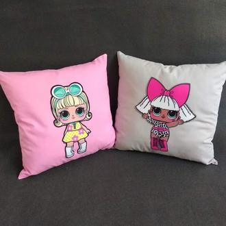 Декоративная подушечка диванная подушка Лол