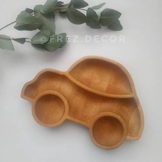 Детская тарелка CAR