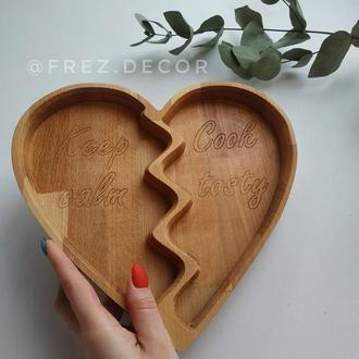 Тарелка Broken Heart