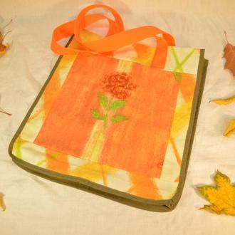 Сумка шоппер эко хозяйственная текстильная для покупок