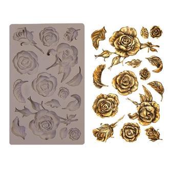 Универсальный силиконовый молд Розы