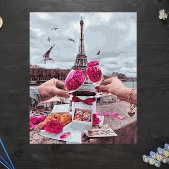"""Картина по номерам """"Пикник в Париже"""", 40х50 см"""