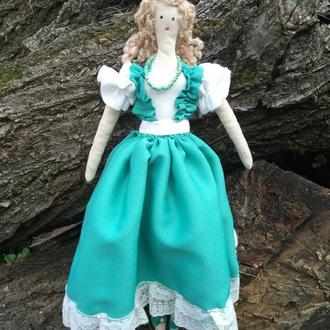 """Кукла """"Хэльга"""" в стиле тильда, текстильная, интерьерная"""