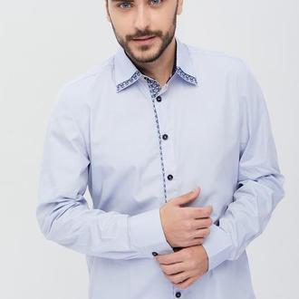 Сорочка чоловіча Дарен (сорочкова блакитна)
