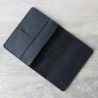 Кожаный чехол для документов и ваучеров. Отлично защити Ваши документы, кредитные карты и деньги!