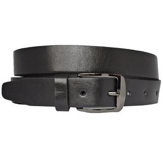 Ремень кожаный мужской классический черный kolt