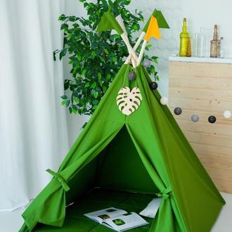 """Вигвам - Палатка для детей - для улицы и дома """"Джунгли Амазонии"""""""