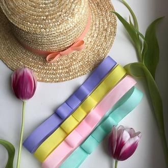 """Літній жіночий капелюшок """"канотье"""", літній солом'яний капелюшок"""