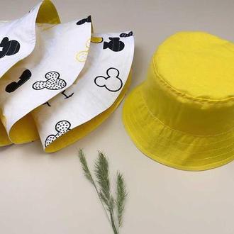 Желтая панамка